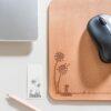 Mauspad mit Pusteblumen Design | Mousepad with dandelion